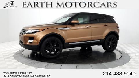 2014 Land Rover Range Rover Evoque for sale in Carrollton, TX