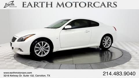 2014 Infiniti Q60 Coupe for sale in Carrollton, TX