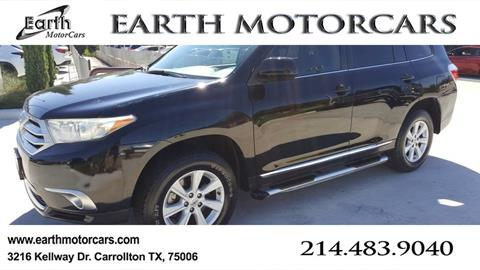 2012 Toyota Highlander for sale in Carrollton, TX