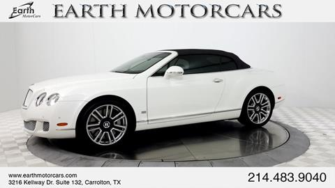 2011 Bentley Continental GTC for sale in Carrollton, TX