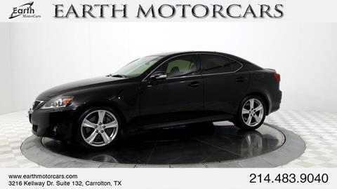 2012 Lexus IS 350 for sale in Carrollton, TX