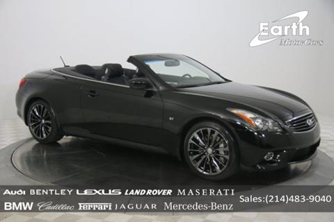 Infiniti Q60 Convertible For Sale In Cincinnati Oh Carsforsale