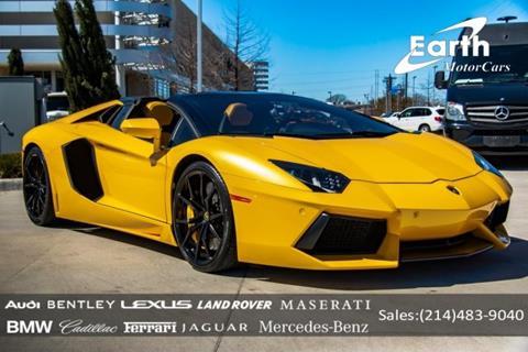 Used Lamborghini Aventador For Sale In Texas Carsforsale Com