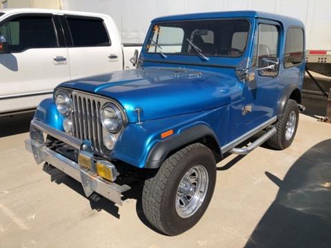 1984 Jeep CJ-7 for sale in Carrollton, TX