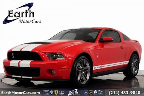 2010 Ford Shelby GT500 for sale in Carrollton, TX