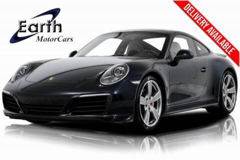 2017 Porsche 911 Carrera 4S for sale at EARTH MOTOR CARS in Carrollton TX