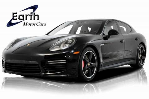2014 Porsche Panamera GTS for sale at EARTH MOTOR CARS in Carrollton TX
