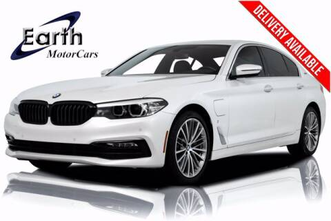 2018 BMW 5 Series for sale at EARTH MOTOR CARS in Carrollton TX