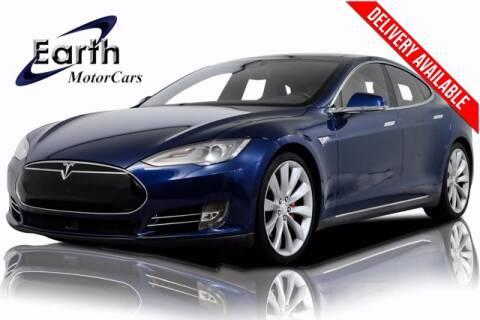 2015 Tesla Model S for sale at EARTH MOTOR CARS in Carrollton TX