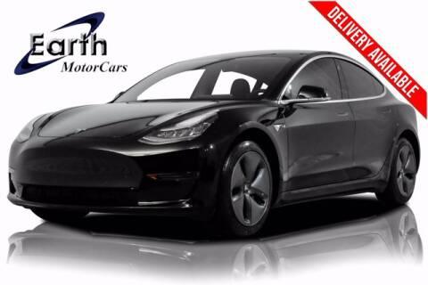 2020 Tesla Model 3 for sale at EARTH MOTOR CARS in Carrollton TX