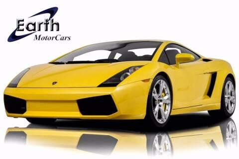 2008 Lamborghini Gallardo for sale at EARTH MOTOR CARS in Carrollton TX