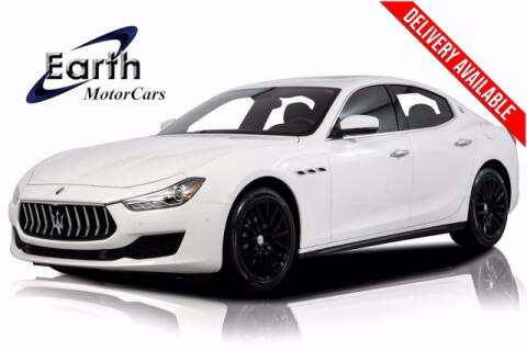 2018 Maserati Ghibli for sale at EARTH MOTOR CARS in Carrollton TX