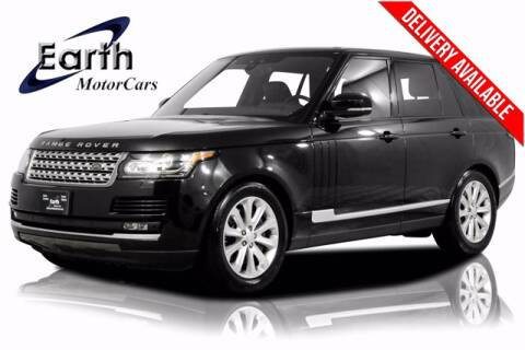 2017 Land Rover Range Rover for sale at EARTH MOTOR CARS in Carrollton TX