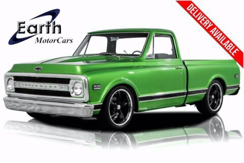 1970 Chevrolet C/K 10 Series for sale at EARTH MOTOR CARS in Carrollton TX