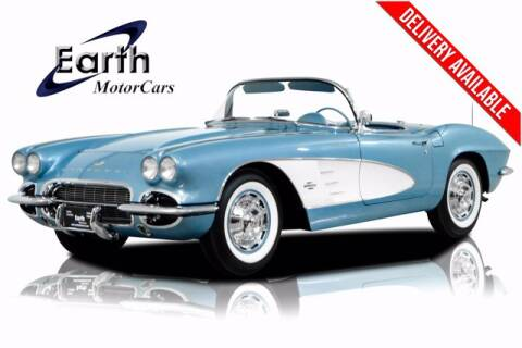1961 Chevrolet Corvette for sale at EARTH MOTOR CARS in Carrollton TX