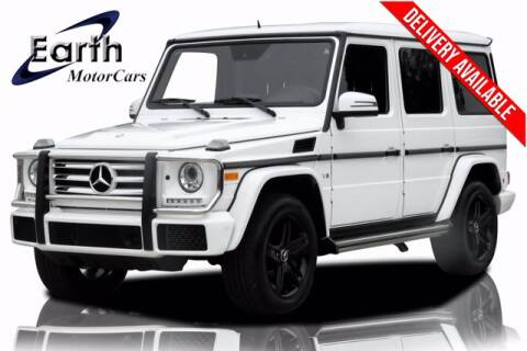 2016 Mercedes-Benz G-Class for sale at EARTH MOTOR CARS in Carrollton TX