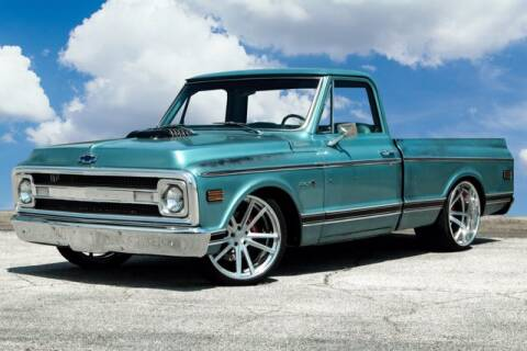 1969 Chevrolet C/K 10 Series for sale at EARTH MOTOR CARS in Carrollton TX