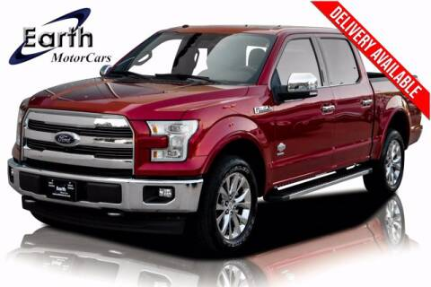 2017 Ford F-150 for sale at EARTH MOTOR CARS in Carrollton TX