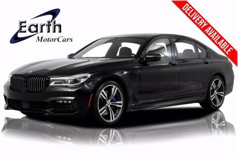 2017 BMW 7 Series for sale at EARTH MOTOR CARS in Carrollton TX
