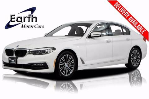 2017 BMW 5 Series for sale at EARTH MOTOR CARS in Carrollton TX