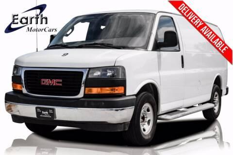 2018 GMC Savana Cargo for sale at EARTH MOTOR CARS in Carrollton TX