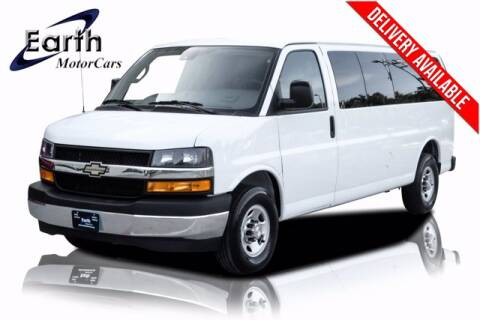 2019 Chevrolet Express Passenger for sale at EARTH MOTOR CARS in Carrollton TX