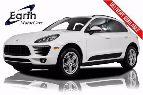 2016 Porsche Macan for sale at EARTH MOTOR CARS in Carrollton TX