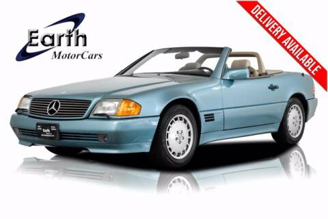 1992 Mercedes-Benz 500-Class for sale at EARTH MOTOR CARS in Carrollton TX