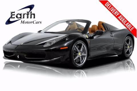 2013 Ferrari 458 Spider for sale at EARTH MOTOR CARS in Carrollton TX
