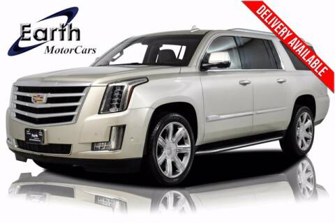2017 Cadillac Escalade ESV for sale at EARTH MOTOR CARS in Carrollton TX