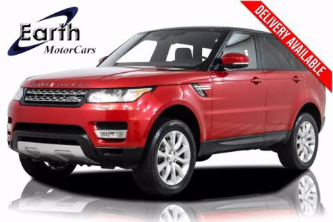 2017 Land Rover Range Rover Sport for sale at EARTH MOTOR CARS in Carrollton TX