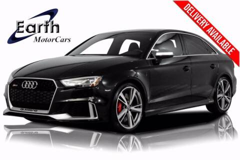 2018 Audi RS 3 for sale at EARTH MOTOR CARS in Carrollton TX