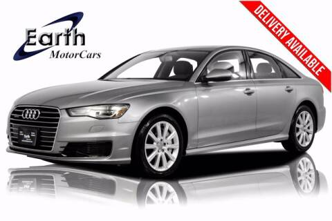 2016 Audi A6 for sale at EARTH MOTOR CARS in Carrollton TX