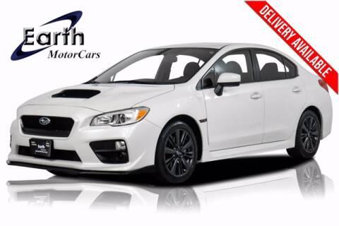 2017 Subaru WRX for sale at EARTH MOTOR CARS in Carrollton TX