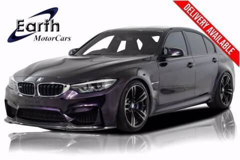 2018 BMW M3 for sale at EARTH MOTOR CARS in Carrollton TX
