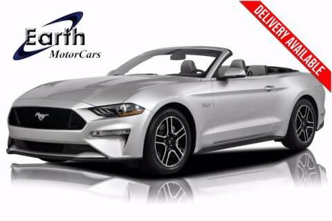 2018 Ford Mustang for sale at EARTH MOTOR CARS in Carrollton TX