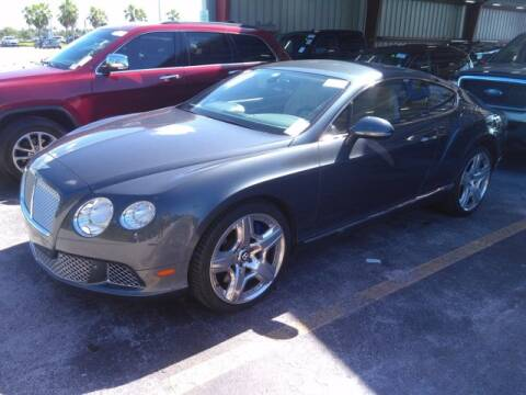 2012 Bentley Continental for sale at EARTH MOTOR CARS in Carrollton TX