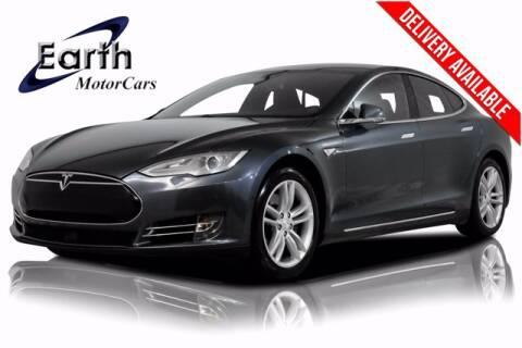 2014 Tesla Model S for sale at EARTH MOTOR CARS in Carrollton TX