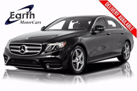2017 Mercedes-Benz E-Class for sale at EARTH MOTOR CARS in Carrollton TX