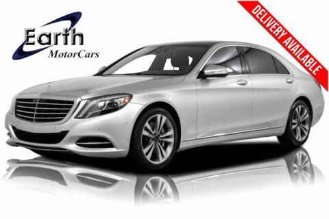 2015 Mercedes-Benz S-Class for sale at EARTH MOTOR CARS in Carrollton TX