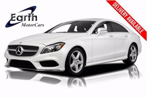 2015 Mercedes-Benz CLS for sale at EARTH MOTOR CARS in Carrollton TX