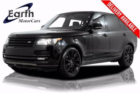 2016 Land Rover Range Rover for sale at EARTH MOTOR CARS in Carrollton TX