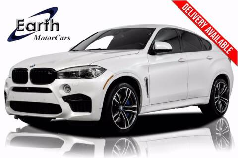 2017 BMW X6 M for sale at EARTH MOTOR CARS in Carrollton TX