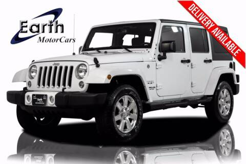 2016 Jeep Wrangler Unlimited for sale at EARTH MOTOR CARS in Carrollton TX