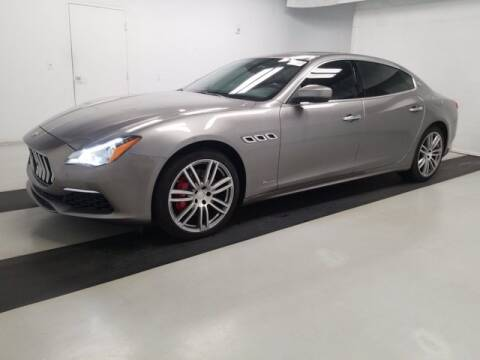 2017 Maserati Quattroporte for sale at EARTH MOTOR CARS in Carrollton TX