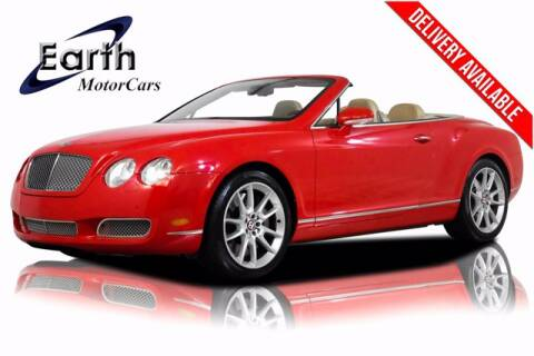 2008 Bentley Continental for sale at EARTH MOTOR CARS in Carrollton TX