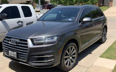 2019 Audi Q7 for sale at EARTH MOTOR CARS in Carrollton TX