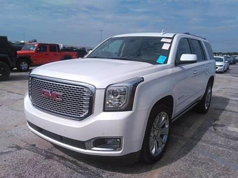 2016 GMC Yukon for sale at EARTH MOTOR CARS in Carrollton TX