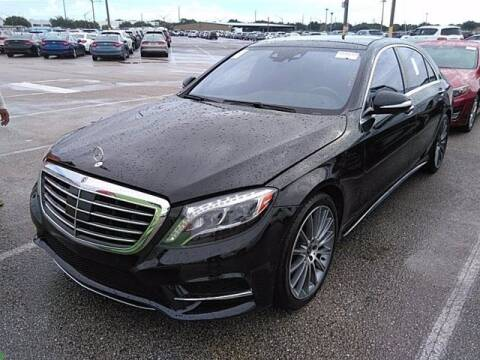2017 Mercedes-Benz S-Class for sale at EARTH MOTOR CARS in Carrollton TX