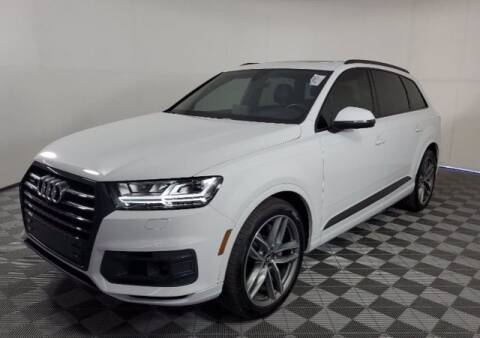 2018 Audi Q7 for sale at EARTH MOTOR CARS in Carrollton TX